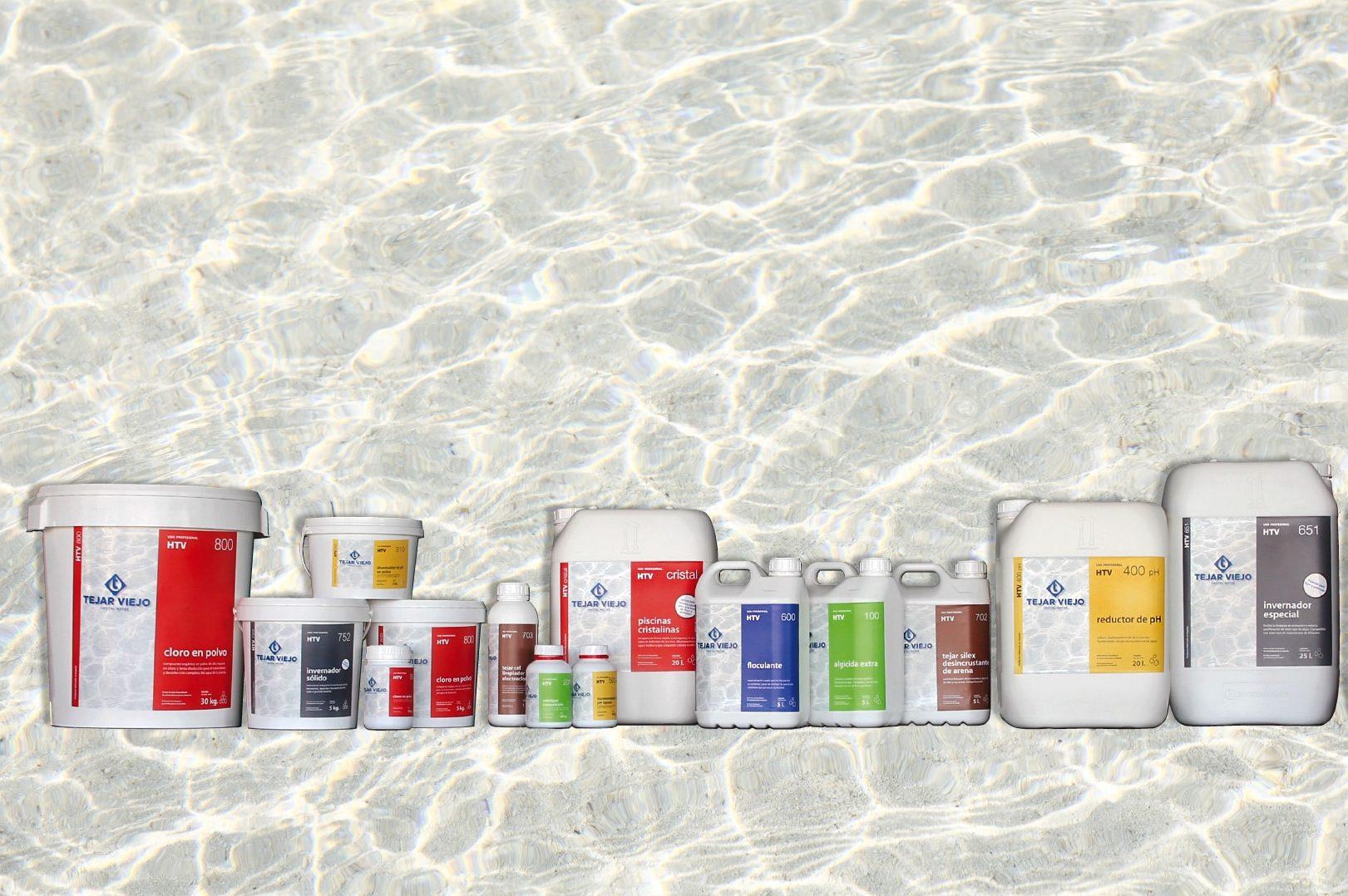 Producte químic per a piscines
